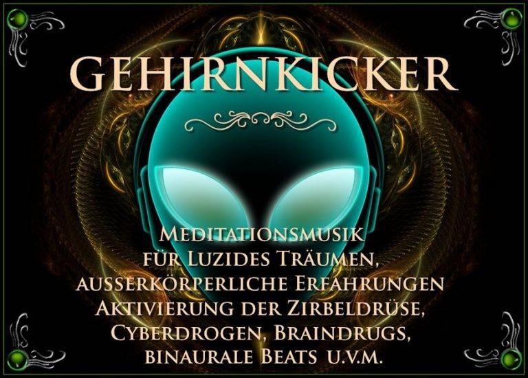 Gehirnkicker - Meditationsmusik - entspannungsmusik - meditations cd - meditation mp3 - binaural beats - silent subliminals - zirbeldrüse aktivieren - isochronische töne - entspannung musik - Hemisync
